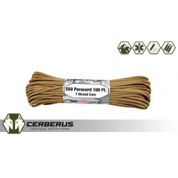Atwood 550 Paracord 100ft 7...