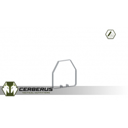 Cerberus 3mm Angled Replacement Lens Protectors for QD Scope Defender