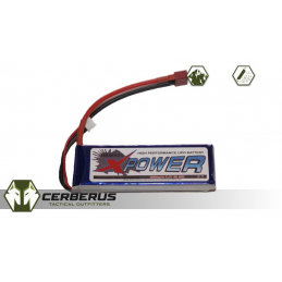 X-Power 2S 2200mAh 7.4v 25C...